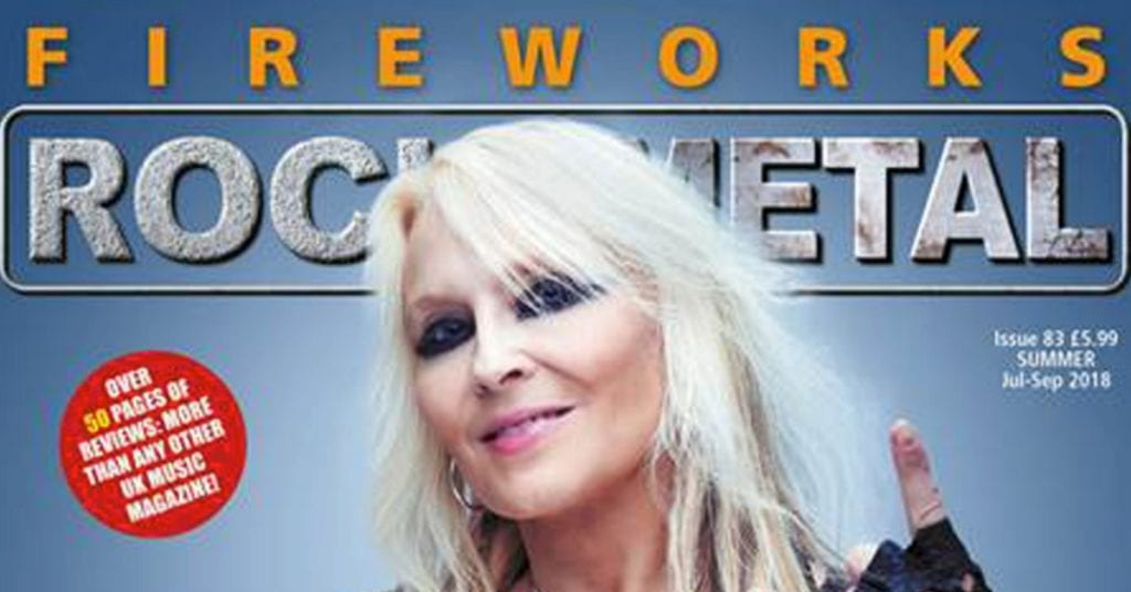 Jennifer Lyn & The Groove Revival Badlands Album Review in Fireworks Rock Metal Magazine