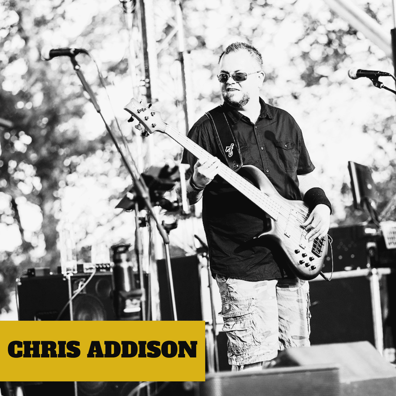 CHRIS ADDISON of Blues Rock Band Jennifer Lyn & The Groove Revival