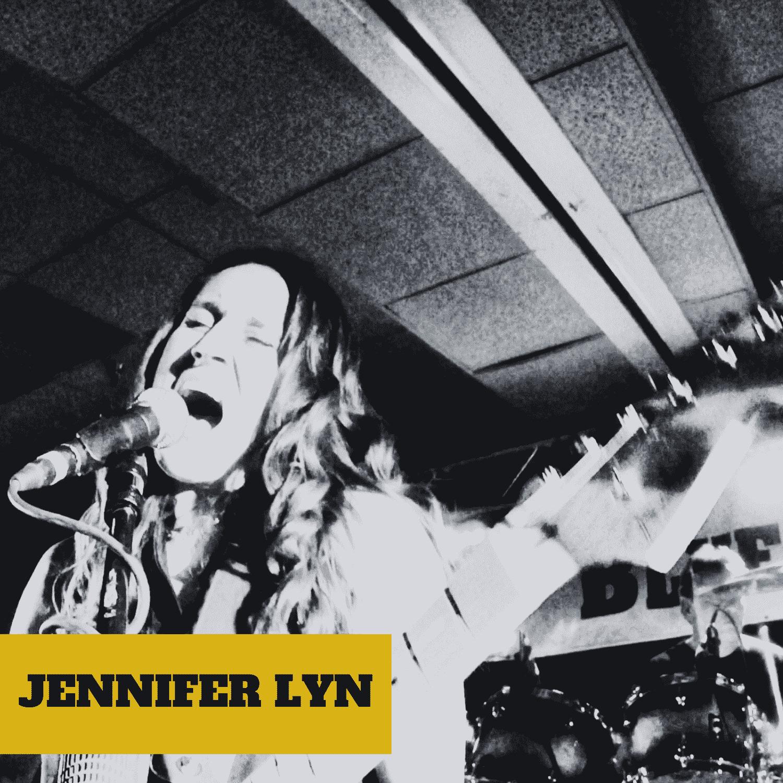 Jennifer Lyn of the band Jennifer Lyn & The Groove Revival